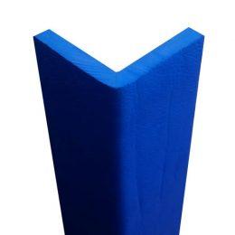protezione angolare gomma morbida blu