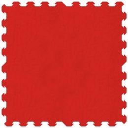 Tappeto atossico certificato 100x100 cm colore rosso