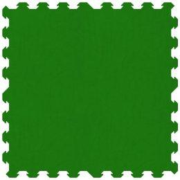 Tappeto puzzle ad incastro, certificato atossico colore verde 100 x 100 cm per gioco bambini