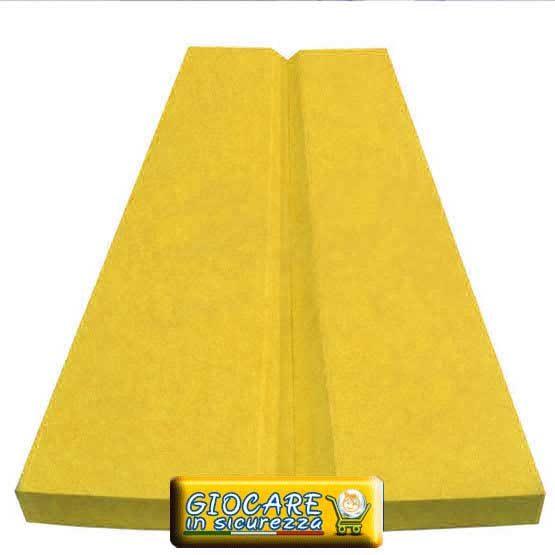 Angolare antitrauma di colore giallo