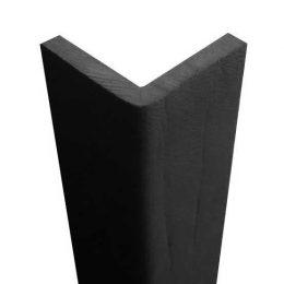 Angolare morbido di gomma nera