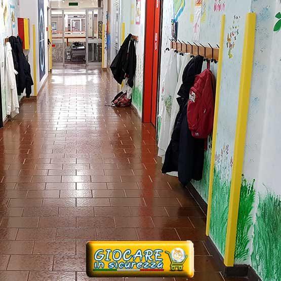 Angolari gialli a scuola infanzia