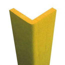 Paraspigolo giallo per spigoli, angoli su muro, cemento, ferro, legno, acciaio.