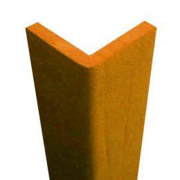 Paraspigolo di protezione in gomma arancione
