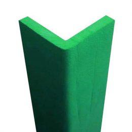 Atossico paraspigolo di gomma verde