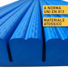 Protezione antitrauma in gomma atossica uni en 913