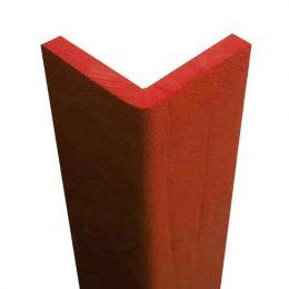 Paraspigolo soffice morbido e di colore rosso in gomma eva atossica