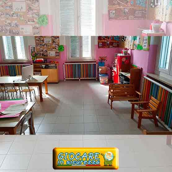 Copritermosifoni nella scuola primaria