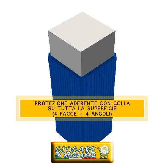 Rivestimento aderente pilastro a sezione quadrata