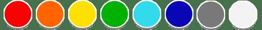 Gamma colore protezioni plastica per termosifoni termoconvettori e radiatori