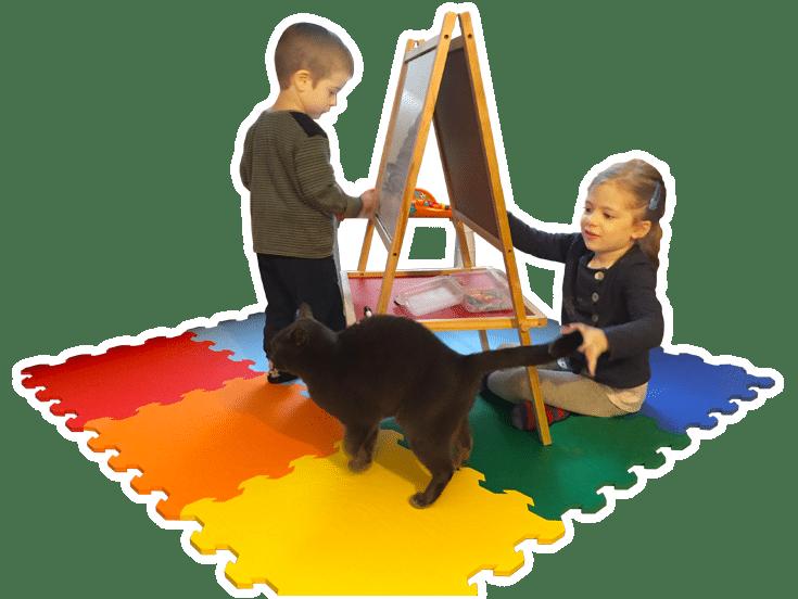 Tappeti gomma per bambini