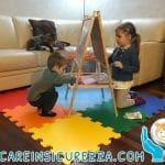 Tappeto per bambini eva per gioco bambini di ogni età
