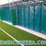 Arcate di metallo con protezione campo al chiuso / indoor