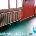 Copritermosifone per la scuola protezioni