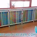 Tubolari di plastica di protezioni per termosifoni e caloriferi