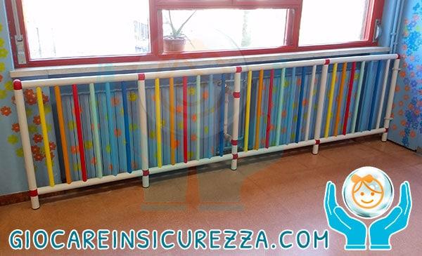Protezioni su misura per termosifoni e radiatori scuola for Termosifoni in alluminio usati