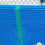 Sportiva protezione in gomma avvolgente e antitrauma per muretto esterno