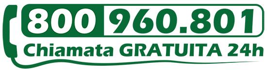 numero verde gratuito 800.960.801