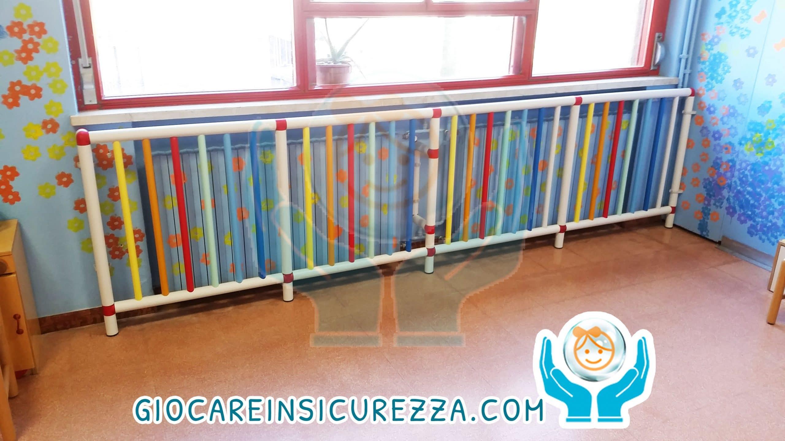 Protezioni su misura per termosifoni e radiatori scuola - Protezioni per bambini in casa ...
