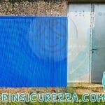 Lastra di protezione murale in gomma antitrauma e antiurto