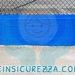Esterna protezione per muretto a bordo campo sportivo