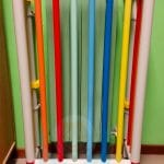 Colorata copertura su misura per radiatore di metallo