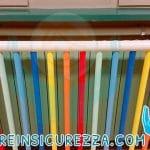 Tubi colorati del copriradiatore su misura