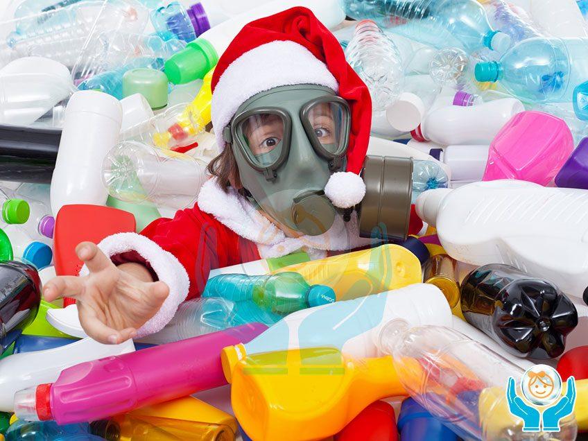 Sostanze tossiche e nocive con plastica e gomma