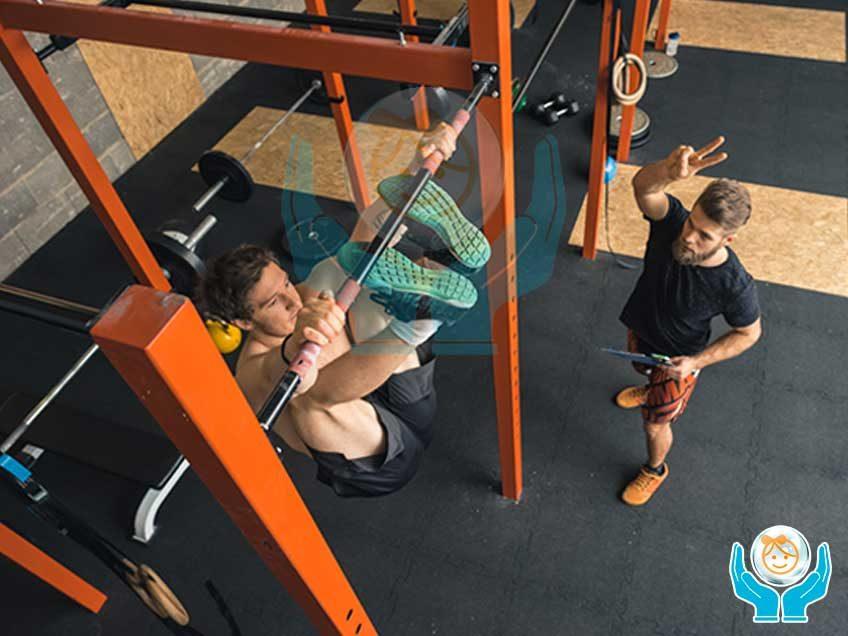 Pavimento crossfit per fitness e palestre