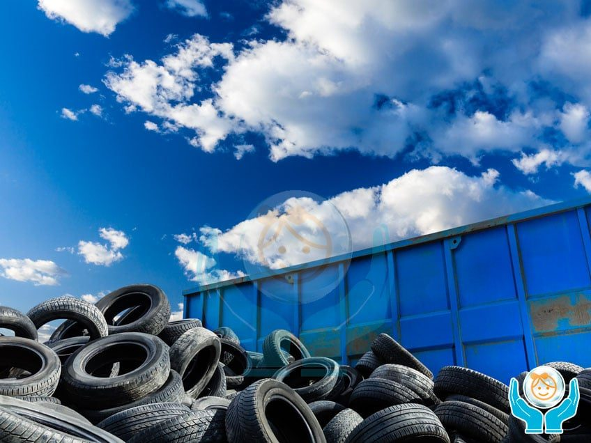 Processo di riciclo della gomma di pneumatico