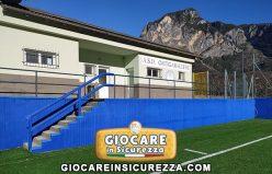 Protezioni sportive murali antiurto su misura in gomma morbida
